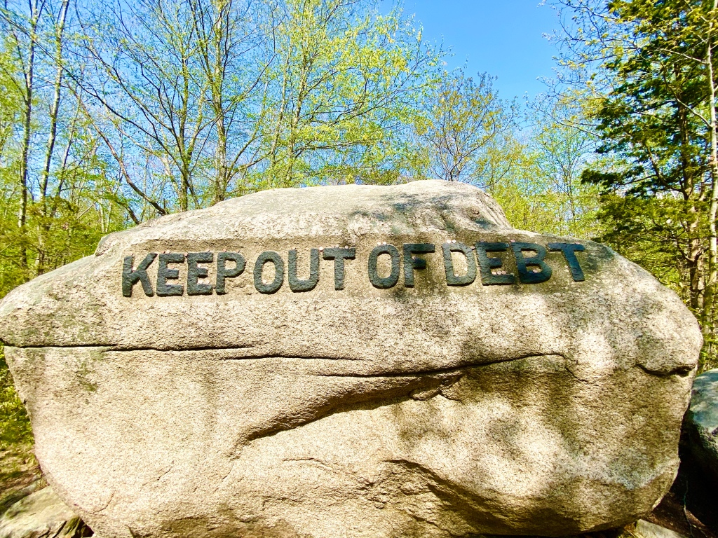 Keep out of Debt